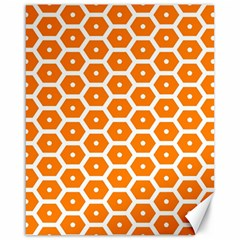 Golden Be Hive Pattern Canvas 16  X 20