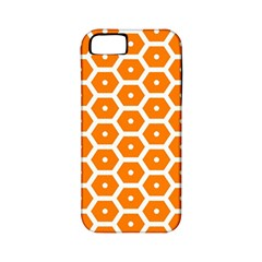 Golden Be Hive Pattern Apple Iphone 5 Classic Hardshell Case (pc+silicone)