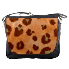 Seamless Tile Background Abstract Messenger Bag