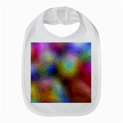 A Mix Of Colors In An Abstract Blend For A Background Bib by Jojostore
