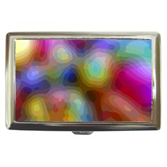 A Mix Of Colors In An Abstract Blend For A Background Cigarette Money Case