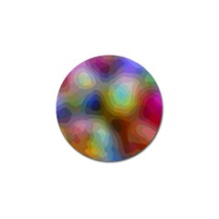 A Mix Of Colors In An Abstract Blend For A Background Golf Ball Marker (10 Pack) by Jojostore