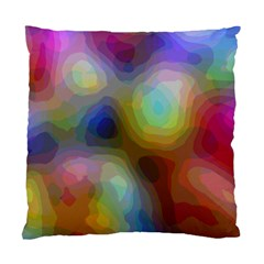 A Mix Of Colors In An Abstract Blend For A Background Standard Cushion Case (one Side)