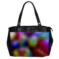 A Mix Of Colors In An Abstract Blend For A Background Oversize Office Handbag