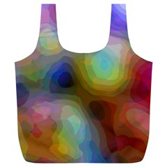 A Mix Of Colors In An Abstract Blend For A Background Full Print Recycle Bag (xl) by Jojostore