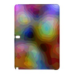 A Mix Of Colors In An Abstract Blend For A Background Samsung Galaxy Tab Pro 10 1 Hardshell Case