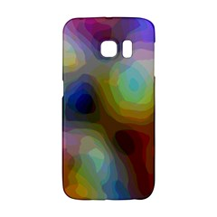 A Mix Of Colors In An Abstract Blend For A Background Samsung Galaxy S6 Edge Hardshell Case by Jojostore
