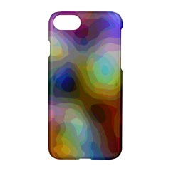 A Mix Of Colors In An Abstract Blend For A Background Apple Iphone 8 Hardshell Case by Jojostore