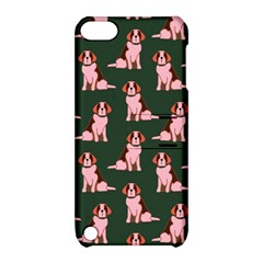 Dog Animal Pattern Apple Ipod Touch 5 Hardshell Case With Stand