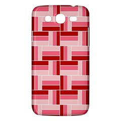Pink Red Burgundy Pattern Stripes Samsung Galaxy Mega 5 8 I9152 Hardshell Case  by Jojostore