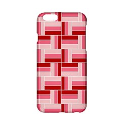 Pink Red Burgundy Pattern Stripes Apple Iphone 6/6s Hardshell Case by Jojostore