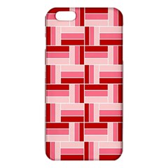 Pink Red Burgundy Pattern Stripes Iphone 6 Plus/6s Plus Tpu Case by Jojostore