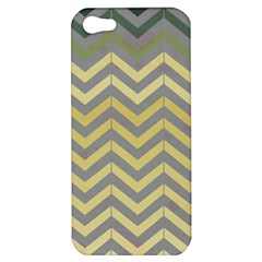 Abstract Vintage Lines Apple Iphone 5 Hardshell Case