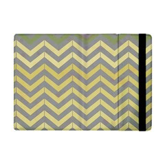 Abstract Vintage Lines Apple Ipad Mini Flip Case