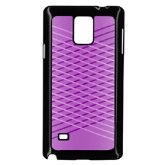 Abstract Lines Background Samsung Galaxy Note 4 Case (black)