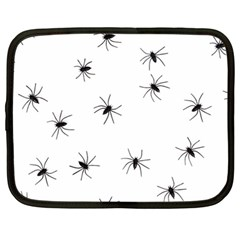 Animals Arachnophobia Seamless Netbook Case (large) by Jojostore