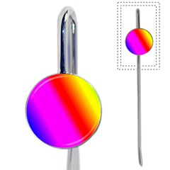 Multi Color Rainbow Background Book Mark