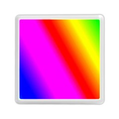 Multi Color Rainbow Background Memory Card Reader (square)