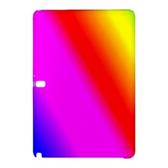Multi Color Rainbow Background Samsung Galaxy Tab Pro 12 2 Hardshell Case by Jojostore