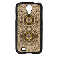Moon Shine Over The Wood In The Night Of Glimmering Pearl Stars Samsung Galaxy S4 I9500/ I9505 Case (black)