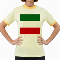 Patriote Flag Women s Fitted Ringer T Shirt by abbeyz71