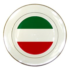 Patriote Flag Porcelain Plates by abbeyz71