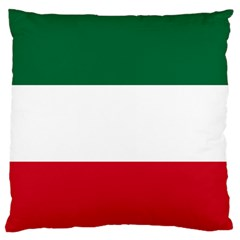 Patriote Flag Large Flano Cushion Case (two Sides) by abbeyz71