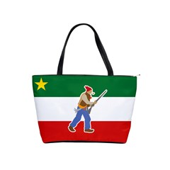 Patriote Flag With Le Vieux De  37 Classic Shoulder Handbag by abbeyz71