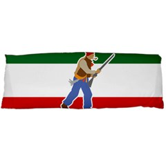 Patriote Flag With Le Vieux De  37 Body Pillow Case (dakimakura) by abbeyz71