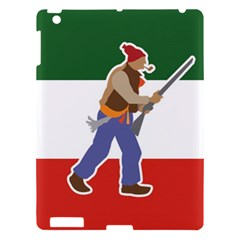Patriote Flag With Le Vieux De  37 Apple Ipad 3/4 Hardshell Case by abbeyz71