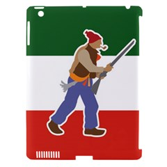 Patriote Flag With Le Vieux De  37 Apple Ipad 3/4 Hardshell Case (compatible With Smart Cover) by abbeyz71