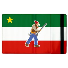 Patriote Flag With Le Vieux De  37 Apple Ipad 3/4 Flip Case by abbeyz71