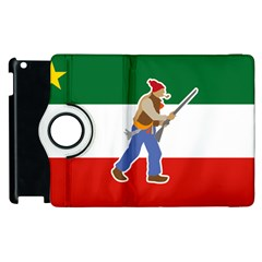 Patriote Flag With Le Vieux De  37 Apple Ipad 3/4 Flip 360 Case by abbeyz71