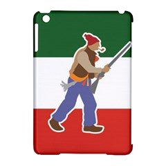 Patriote Flag With Le Vieux De  37 Apple Ipad Mini Hardshell Case (compatible With Smart Cover) by abbeyz71