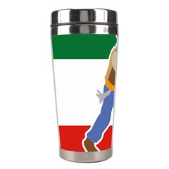 Patriote Flag With Le Vieux De  37 Stainless Steel Travel Tumblers by abbeyz71