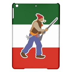 Patriote Flag With Le Vieux De  37 Ipad Air Hardshell Cases by abbeyz71