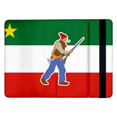Patriote Flag With Le Vieux De  37 Samsung Galaxy Tab Pro 12 2  Flip Case by abbeyz71