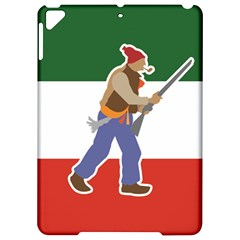 Patriote Flag With Le Vieux De  37 Apple Ipad Pro 9 7   Hardshell Case by abbeyz71