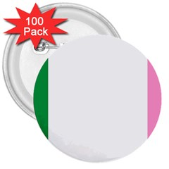 Newfoundland Tricolour 3  Buttons (100 Pack)  by abbeyz71