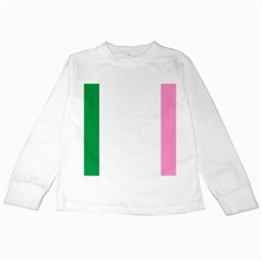 Newfoundland Tricolour Kids Long Sleeve T Shirts by abbeyz71