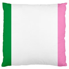 Newfoundland Tricolour Large Cushion Case (two Sides) by abbeyz71
