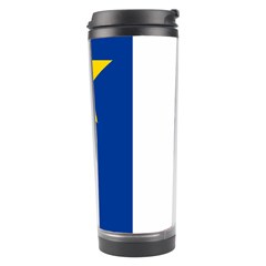 Flag Of Acadia Travel Tumbler