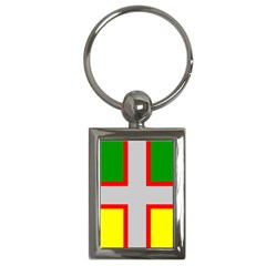 Flag Of Saguenay Lac Saint Jean Key Chains (rectangle)  by abbeyz71