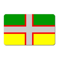 Flag Of Saguenay Lac Saint Jean Magnet (rectangular) by abbeyz71