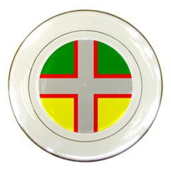 Flag Of Saguenay Lac Saint Jean Porcelain Plates by abbeyz71