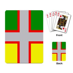Flag Of Saguenay Lac Saint Jean Playing Cards Single Design by abbeyz71