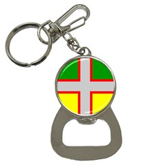 Flag Of Saguenay Lac Saint Jean Bottle Opener Key Chains by abbeyz71