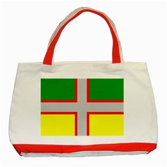 Flag Of Saguenay Lac Saint Jean Classic Tote Bag (red)