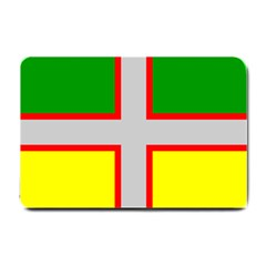 Flag Of Saguenay Lac Saint Jean Small Doormat