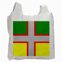 Flag Of Saguenay Lac Saint Jean Recycle Bag (one Side) by abbeyz71